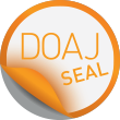 Logo for the DOAJ Seal.
