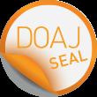 Logo for the DOAJ Seal.